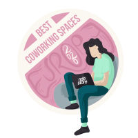 Best Coworking Spaces Award Badge Female (1)