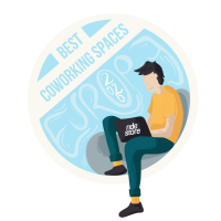 Best Coworking Spaces Award Badge Male (4)